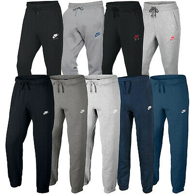 Nike Mens Tapered Club Joggers Air Fleece Tracksuit Bottoms Jogging Sweatpants