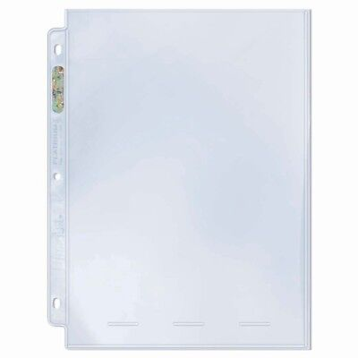 (25) Ultra Pro 1 POCKET 8x10 Platinum Pages Archival Sheets Album 8 x 10 Photos