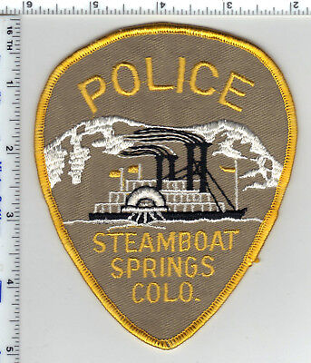 Steamboat Springs Police (Colorado) Shoulder Patch - new from the 1980's