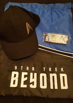 Star Trek Beyond Fan Set Mütze Pins Tasche Neu