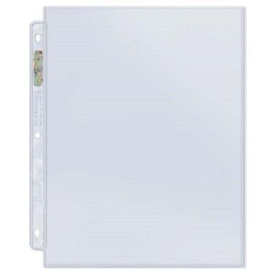 (10) Ultra Pro 1 POCKET 8.5x11 Platinum Pages Archival Sheets 8.5 x 11 Photos
