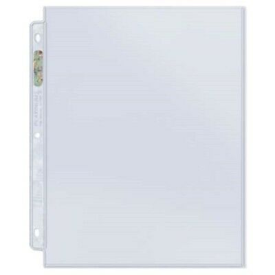 (5) Ultra Pro 1 POCKET 8.5x11 Platinum Pages Archival Sheets 8.5 x 11 Photos