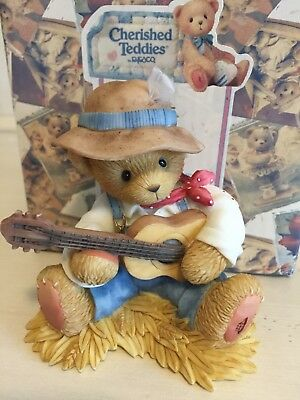 """Cherished Teddies Jesse """"With You I'll Never Sing The Country Blues"""" Club Excl"""