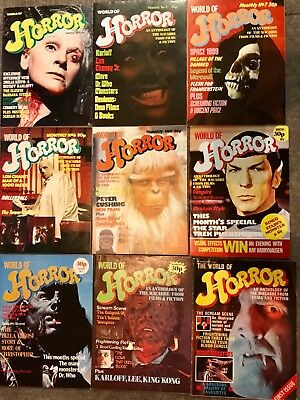 World Of Horror Complete Horror Mag Collection