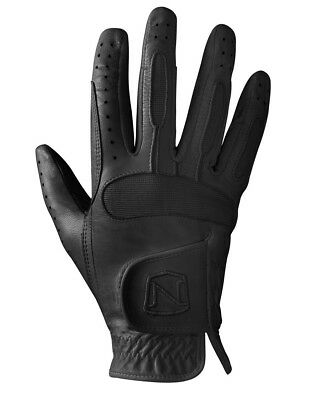 (Black, 8) - Noble Outfitters Show Ready Leather Gloves- Black or White