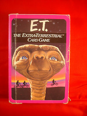 E.T. The Extra-Terrestrial Card Game (Parker 1982) - complete