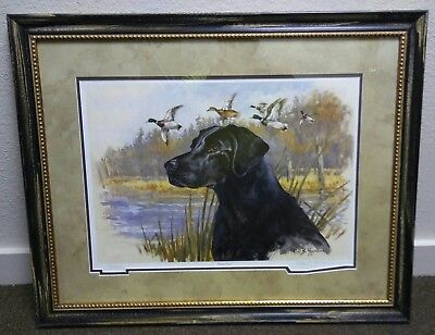"""Ross B. Young Signed & Numbered Custom Framed Print Ducks Unlimited """"Pure Class"""""""