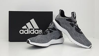 fe5f7420fb9df Adidas Alphabounce EM M Engineered Mesh Black White Grey BB9043 BRAND NEW  IN BOX