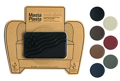 MastaPlasta Self-Adhesive Leather Repair Patch FLAG 10x6cm Sofa Car Seat Bags