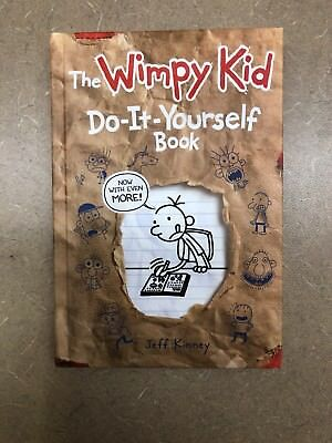 The wimpy kid do it yourself book by jeff kinney english diary of a wimpy kid do it yourself 1 by jeff kinney solutioingenieria Images