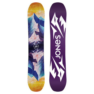 Jones Snowboard Twin Sister 143 Freestyle Meets Freeride 18 Board Women's Snowb