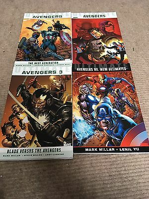 Ultimate Comics Ultimate Avengers Mark Millar Marvel Complete Collection