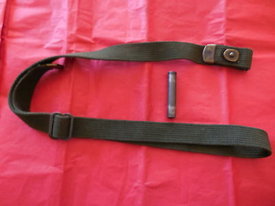 Original US WWII M1 Carbine Sling and Oiler IS WW2