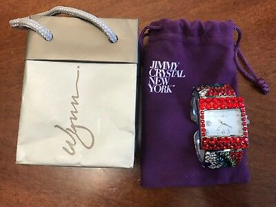 Womens Watch From Wynn Encore Las Vegas Multicolored Crystals Stainless Steel