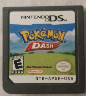 Pokemon Dash (Nintendo DS, 2005) 3DS / 2DS XL / DSi, Cart Only, Tested