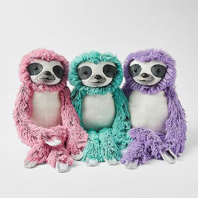 NEW Sloth Plush Toy Assorted
