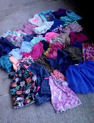 Girls Size 4/5 5 Spring & Summer 36 piece Lot Of Clothing Place Gymboree... Nice