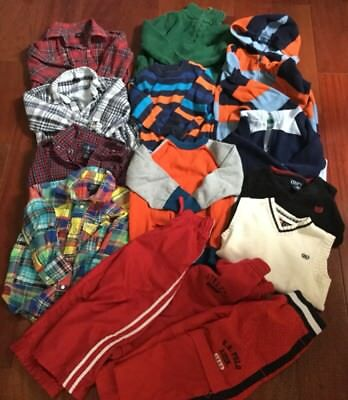 Huge Lot of 14 Boy Clothes Outfit Size 3T Name Brand Ralph Lauren Gap Excellent