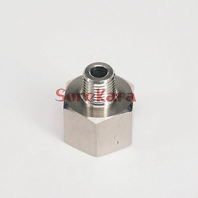 """1/2"""" BSP Female to 1/4"""" BSP Male 304 Stainless Steel Pipe Fitting Connector"""