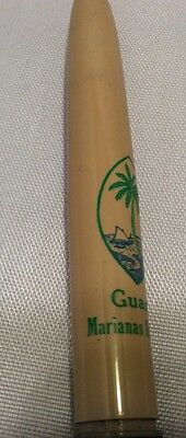 Vtg Sheaffer Fountain Pen Fine Line Advertising Guam Marianas Islands