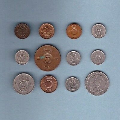 Sweden - Coin Collection - Lot # X-28 - World/Foreign/Europe