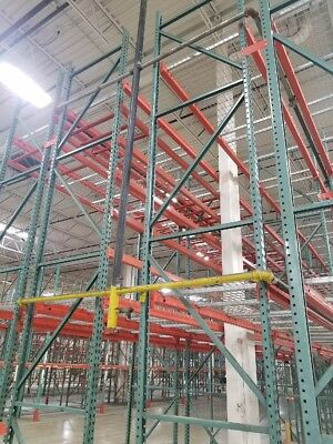 "USED Pallet Rack Beam, 96"" x 3.75"", Orange"