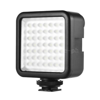 Andoer W49 Mini Interlock Kamera LED Panel Licht Dimmable Camcorder Video H0A0