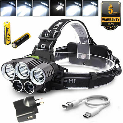 20000LM Tactical*Military CREE XML XM-L L2 LED Police Flashlight Torch Gift Kit