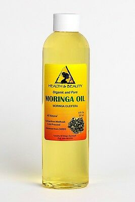 Moringa Oleifera Oil Organic Carrier Cold Pressed Natural Fresh 100% Pure 240ml