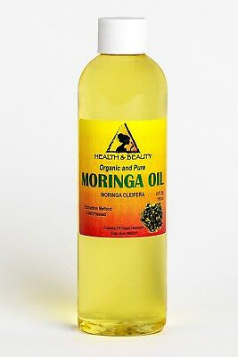Moringa Oleifera Oil Organic Carrier Cold Pressed Natural Fresh 100% Pure 120ml