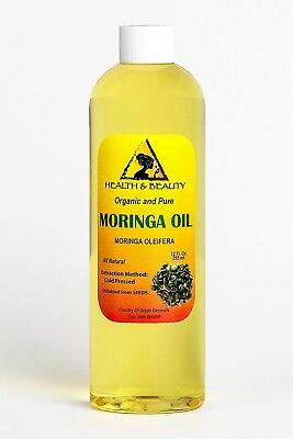 Moringa Oleifera Oil Organic Carrier Cold Pressed Natural Fresh 100% Pure 350ml