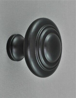 CABINET KNOB LARGE-38mm domed style-Solid Brass-10 finishes-door-drawer-kitchen