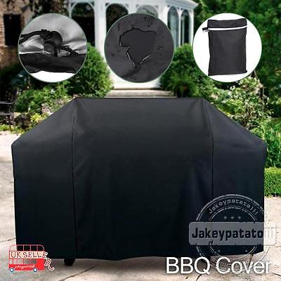 BBQ Cover Outdoor Waterproof Barbecue Cover Garden Patio Grill Protector 145cm