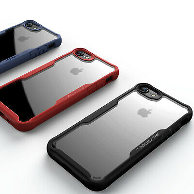 For iPhone XS Max XR X 8 7 Plus Mosafe® Clear Transparant Protective Case Cover