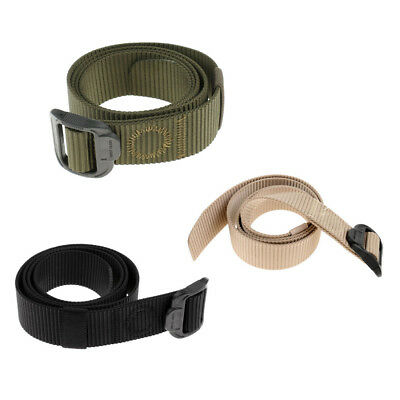 Lovoski Military Tactical Emergency Rescue Rigger Hunting Braided Belt