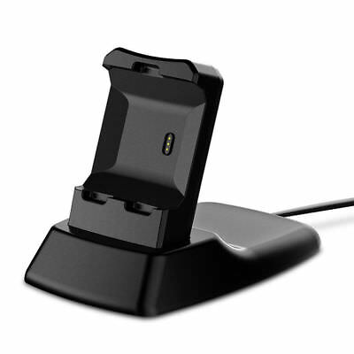 Charging Stand Dock Station Cradle Holder Charger for Fitbit Ionic Smart Watch
