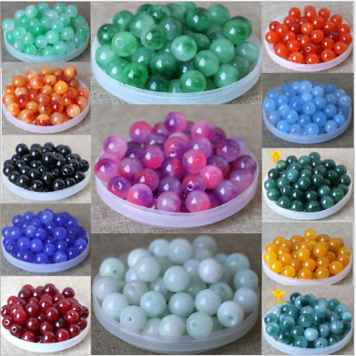 4mm 6mm 8mm 10mm 12mm Natural Quartz Gemstone Round Spacer Stone Loose Beads