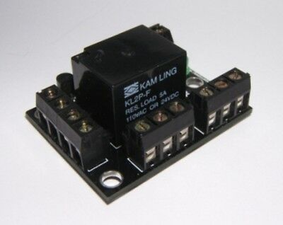 DPDT Relay Module Self Build Kit with Songle 5/6/12/24VDC 5A Relay UK Seller