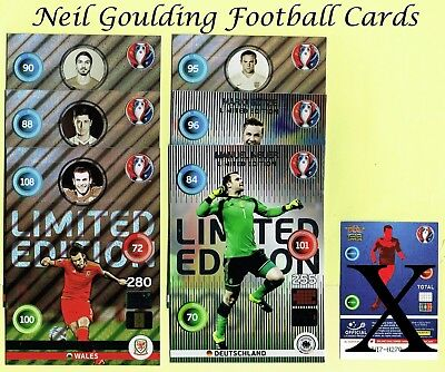 Panini EURO 2016 ☆☆☆☆☆ LIMITED EDITION ☆☆☆☆☆ XXL Football Cards