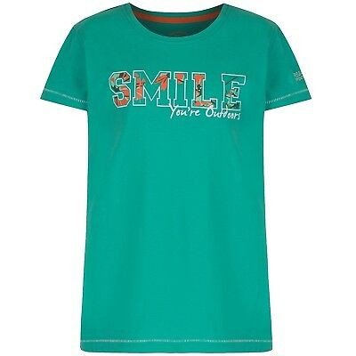 (3-4 Years, Jade Smile) - Regatta Children's Bobbles Ii T-Shirt