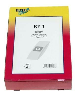 Filter Clean KY1 3x sacchi sacchetti aspirapolvere Kirby Legend Heritage G3 G7