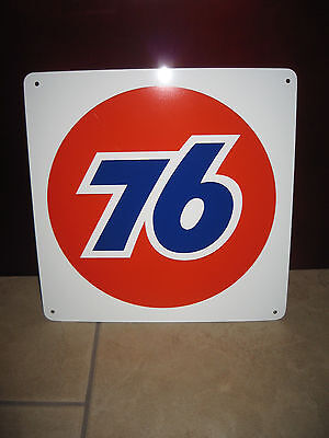 UNION 76 Gas Pump SIGN Service Station Unicol Mechanic Shop Advertise Free Ship