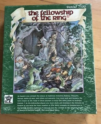 The Fellowship of The Ring Brettspiel 1990