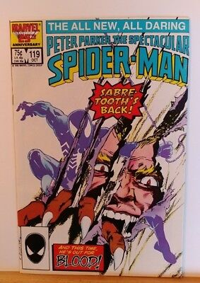 The Spectacular Spider-Man #119 (Oct 1986, Marvel)