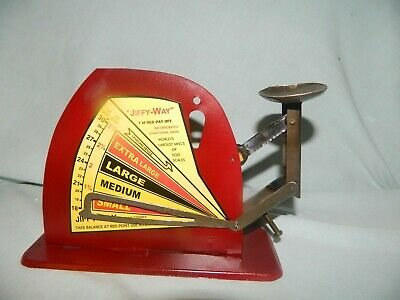 Vintage Style Brower Mfg Co.  Poultry Egg Scale and Sizer~ Chicken Farm ~ Hen