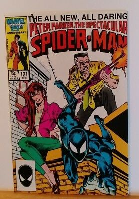 The Spectacular Spider-Man #121 (Dec 1986, Marvel)