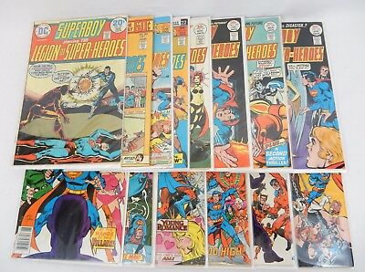 Superboy and the Legion of Super-Heroes Lot Of 14 Issues 1970's  #201-240 VG