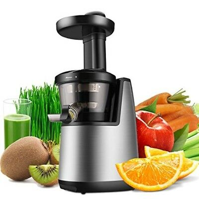 Cold Press Juicer Machine - Masticating Juicer Slow Juice Extractor Maker 120W