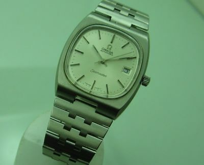 OMEGA SEAMASTER AUTOMATIC Cal. 1012 37mm STEEL VINTAGE WRIST WATCH FOR MEN