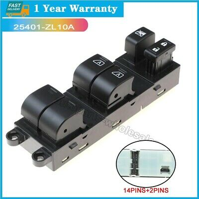 Oem 25401 Zl10a For 2007 2008 09 2017 Nissan Pathfinder Window Switch